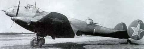 Дальний бомбардировщик Ер-2 (8188 bytes)